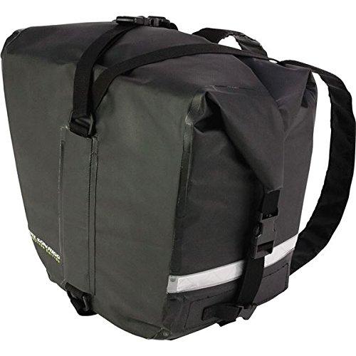 BLK  Black Adventure Dry Saddlebag ()