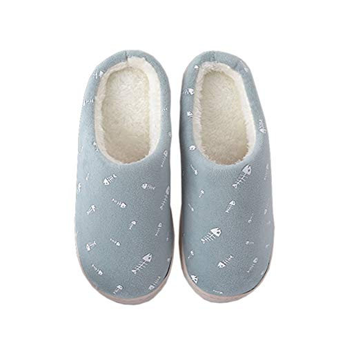 House Plush Shoes Ful Indoor Lining Warm Green Clog Fuzzy Winter on Women Home Women Slippers Slippers Slip Slippers gZHxq0w