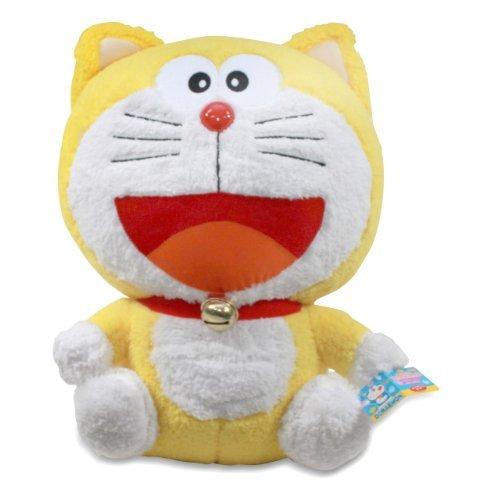 Doraemon XL Cute Plush Doll Ganso Enters! ~ 14″ Ganso Doraemon (Yellow)