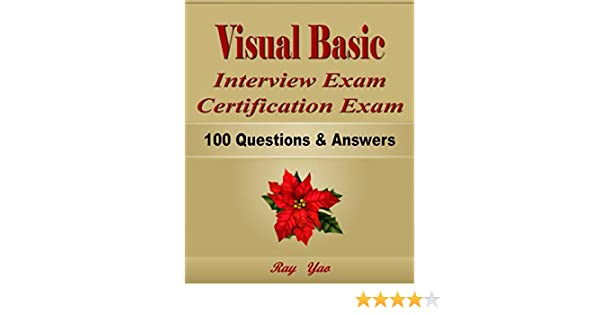 Vb6.0 Interview Questions And Answers Ebook Download