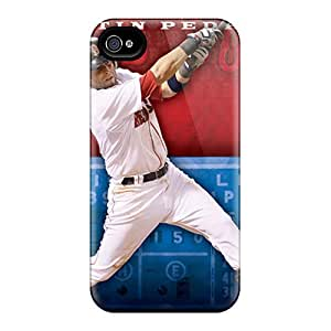 Great Cell-phone Hard Cover For Iphone 6 With Unique Design Vivid Boston Red Sox Series IanJoeyPatricia