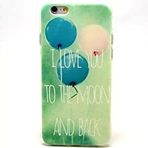 QYF Balloon Pattern TPU Soft Cover for iPhone 6