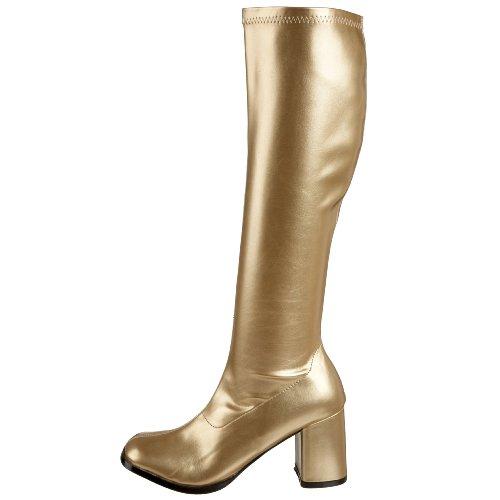 gold Gogo300 Donna Gold Stivaletti pu Pleaser g FxOUwqF1Z