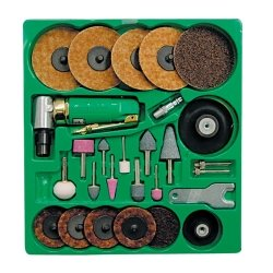 Mountain (MTN7310) Surface Prep Kit with 90 Angle Die Grinder and Surface Prep (Surface Prep Pad Kit)