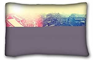 Generic Personalized City Custom Zippered Pillow Case 20x30 inches(one sides) from Surprise you suitable for Full-bed