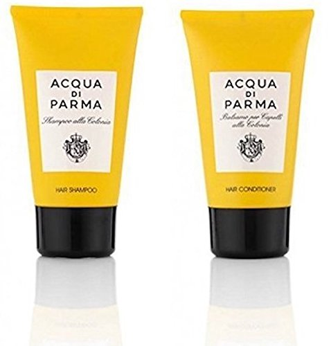 Acqua Di Parma Shampoo (Acqua di Parma Colonia Shampoo and Conditioner Set - 5 Fl Oz/150 ml each)