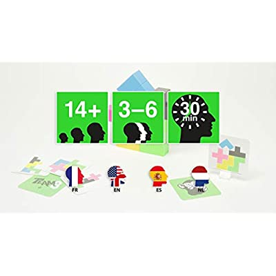 BRAIN GAMES TEAM3 Green Board Game - A Thrilling Party Game: Toys & Games
