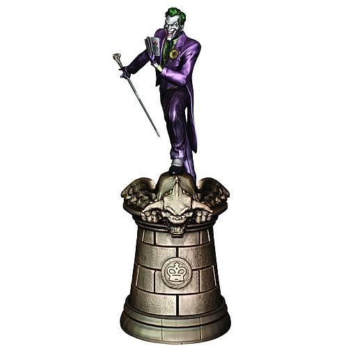 DC Superhero Joker King Chess Piece with Collector Magazine by Eaglemoss Publications