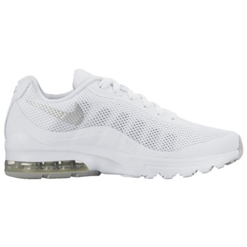 Nike Womens Air Max Invigor White/Metallic Silver Running Shoe 7 Women US