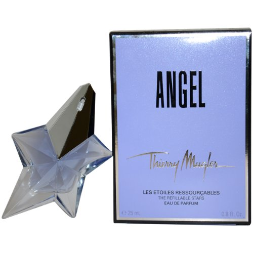 Thierry Mugler Angel Eau De Parfum Refillable Spray for Women, 0.8 - Mugler By Spray Angel Bottle Thierry