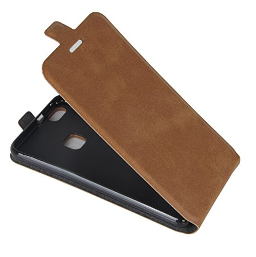 Funda Huawei P10 Lite,Manyip Caja del teléfono del cuero,Protector de Pantalla de Slim Case Estilo Billetera con Ranuras para Tarjetas, Soporte Plegable, Cierre Magnético G
