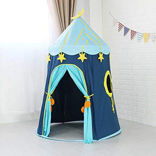Sport 110 150cm Children's Outdoor Entertainment Yur Pet Mat Blue House Yurts Moon Tent Game Room by Shop Sport (Image #5)