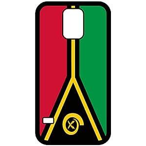 Vanautu Flag Black Samsung Galaxy S5 Cell Phone Case - Cover