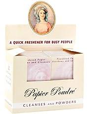Papier Poudre Oil Blotting Papers, Rachel, 1 Box of 12 Booklets