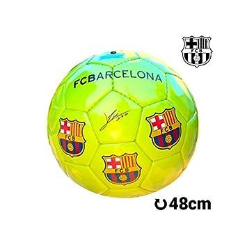 Balón de Fútbol Mediano Amarillo F.C. Barcelona: Amazon.es ...