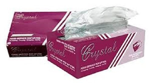 Crystal by crystalware FPU9103000B Premium Aluminum Foil Pop Up Sheets, 9