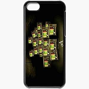 Personalized iPhone 5C Cell phone Case/Cover Skin Shin Megami Tensei Persona 4 Black