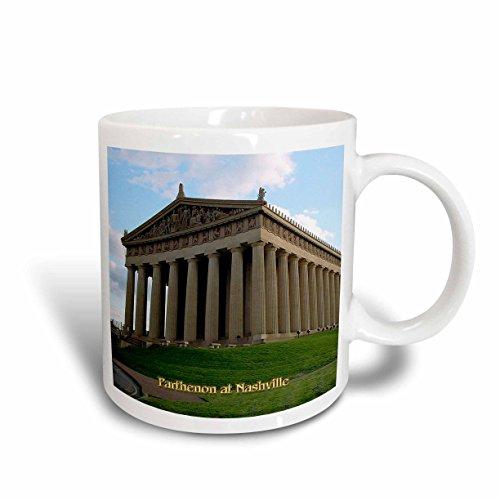 3dRose mug_55334_2 Parthenon at Nashville Ceramic Mug, 15 oz, - Nashville Outlets