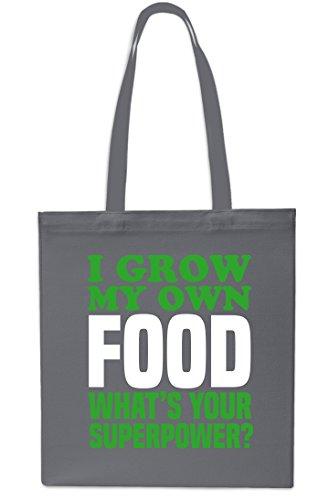 Shopping Grow Bag Grey Small 42cm 10 Grey My Tote Gym litres Own I Beach Food x38cm wBpqxXqfA