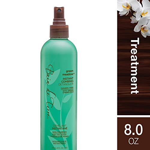 Bain de Terre Green Meadow Instant Combing Detangler, with Argan and Monoi Oil, Paraben-Free, 8-Ounce