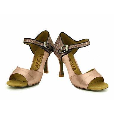 XIAMUO Anpassbare Frauen Beruf Tanz Schuhe, Blau, Us7.5/EU38/UK5.5/CN 38