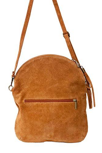 Italy Messenger Velours sac De Minibag formel Bandoulière Gris À suede Fashion Cuir Real PAqnH