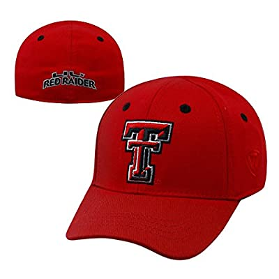 NCAA TEXAS TECH Cub/Infant/Toddler Crew Hat/Cap Size: XSMALL (48-50 CM) by NCAA