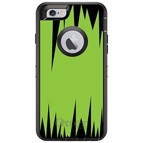 CUSTOM Black OtterBox Defender Series Case for Apple iPhone 6 / 6S (4.7