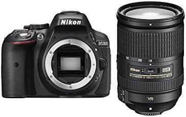 Nikon D5300 Cámara réflex Digital 24,2 Mpx, Objetivo AF-S DX VR 18 ...