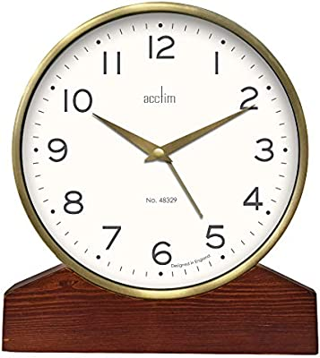 Acctim 33836 Lannister Reloj Despertador de Mesa Estilo Retro ...
