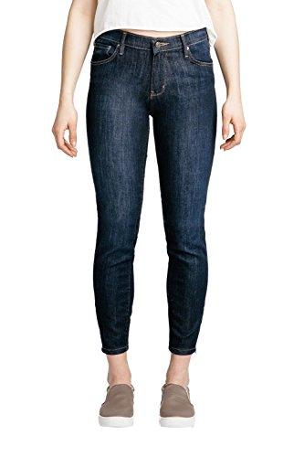 Dish Skinny Zip Crop Jean Pant - Women's Indigo Rinse Wash 27