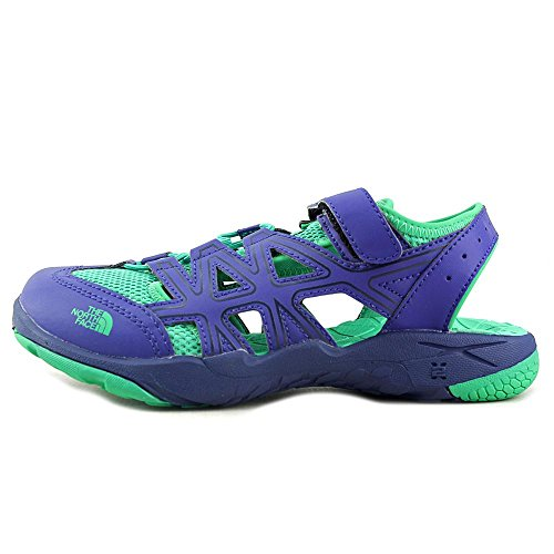 The North Face Youth Hedgehog Sandal Marker Azul / Verde Blarney