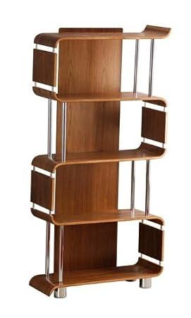 sale retailer 2a67d e7c42 Jual Curve BS201 Bookcase, Walnut