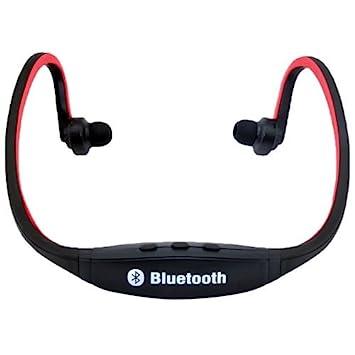 Cascos Auriculares Inalámbricos Rojos Bluetooth Para Cuello Running, Ideal Para Correr!: Amazon.es: Electrónica