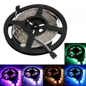 IP44 45W 300 x 5050 LED Colorful Light Flexible Strip (5-Meter/DC 12V)
