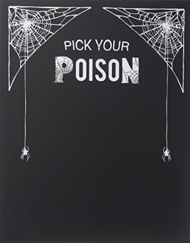 Concepts Cathys Decoration Table (Cathy's Concepts  Pick Your Poison Decorative Chalkboard)