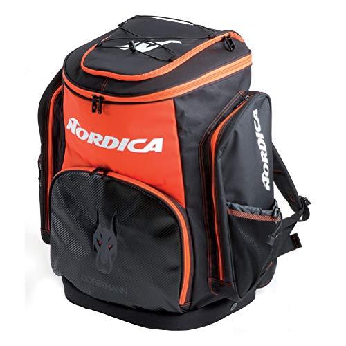 (Nordica Dobermann Race XL Ski Boot Bag 2019 - Black-Red)