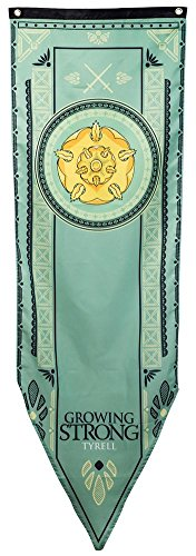 "Game of Thrones House Tyrell Tournament Banner - 19"" by 60"""