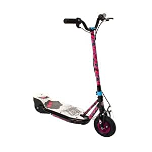 Monster High Girl's Electric Scooter, Black/Pink
