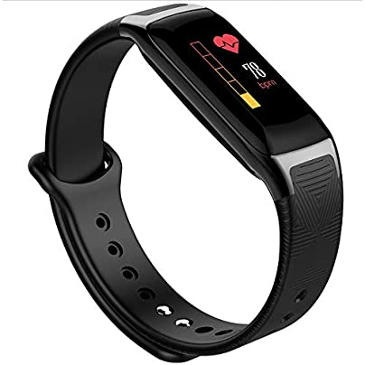Linbing123 Fitness tracker with touch screen best fitness wristband pedometer sports watch and heart rate monitoring activity monitor smart with sleep monitoring IPS watch 002 Estimated Price £43.39 -
