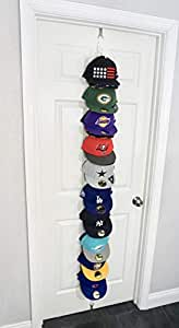 The Clip Hanger (Door or Wall) Multi-Purpose Organizer Hats (Any Style, Size, Shape) Chips, Bags, Scarfs, Ties, Belts, Toys, Gloves, Hoodies, Any Lightweight Apparel