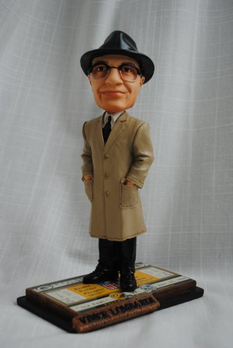 Vince Lombardi Hall of Fame Green Bay Packers Ticket Base bobble head by forever