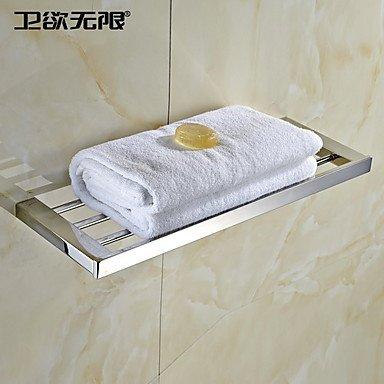 MEI Contemporary Quadrate Stainless Steel Towel Rack by MEI