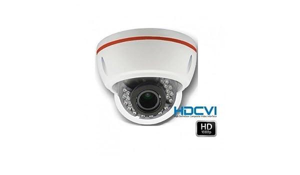 HD-CVI - Cámara domo de vigilancia 1080P HDCVI distancia focal ajustable 2.8 - 12 mm - cam-hdcvi-h18: Amazon.es: Bricolaje y herramientas