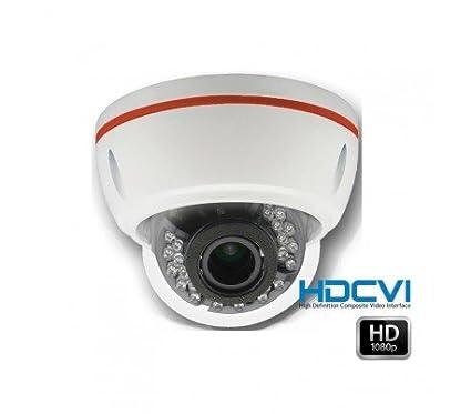 HD-CVI – Cámara domo de vigilancia 1080P HDCVI distancia focal ajustable 2.8 – 12