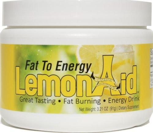 Fat to Energy LemonAid Drink 91 grams, powder by Total Solution Supplements by Total Solution Supplements (Image #1)