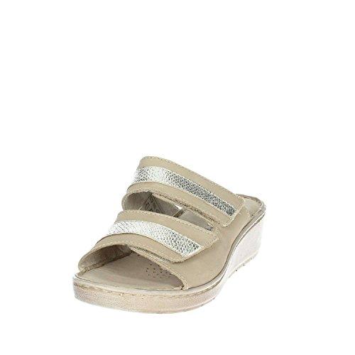 IV8602 Beige Cinzia SA Soft Femme Mules 002 v6x1Rxgq