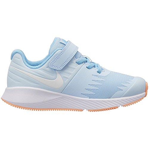 Nike Girl's Star Runner (PSV) Pre-School Shoe Cobalt Tint/White/Blue Chill Size 2 M US by Nike (Image #1)