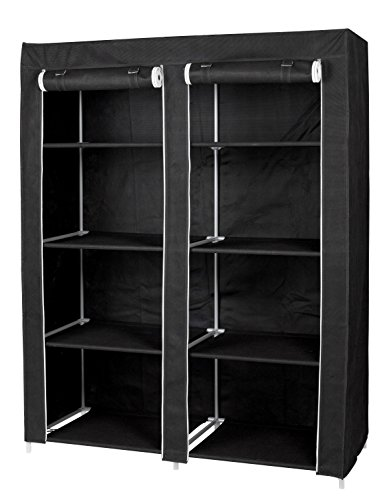 FloridaBrands Large Portable Wardrobe Closet Organizer with