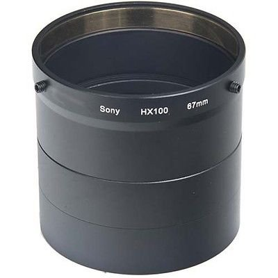Lens / Filter Adapter Tube for Sony DSC-HX100, Sony HX100V, Sony DSC-HX200, Sony HX100V, Sony - Adapter Filter Tube Lens